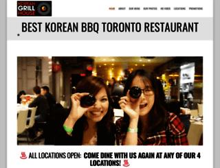 koreangrillhouse.com screenshot