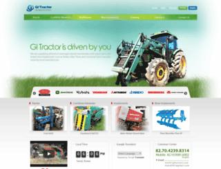 koreantractor.com screenshot