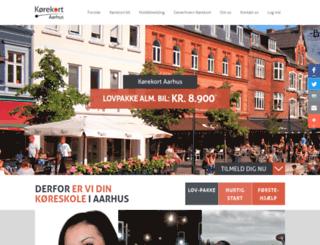 korekortaarhus.dk screenshot