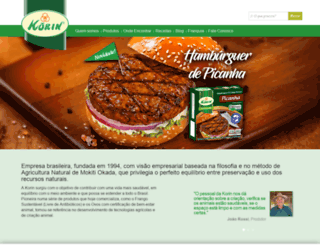 korin.com.br screenshot