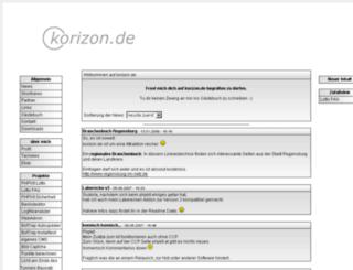 korizon.de screenshot