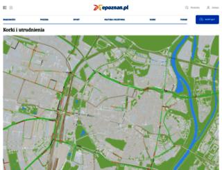 korki.epoznan.pl screenshot