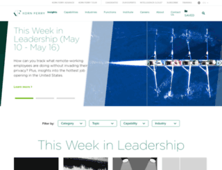 kornferryinstitute.com screenshot