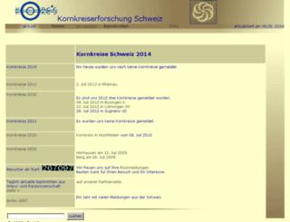 kornkreise.ch screenshot