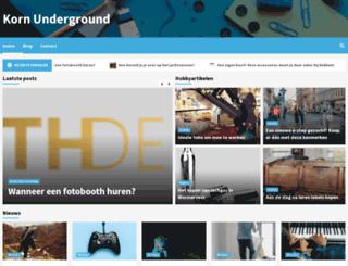 kornunderground.nl screenshot