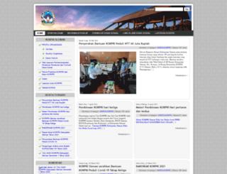 korpri.slemankab.go.id screenshot