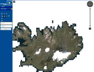 kort.lmi.is screenshot