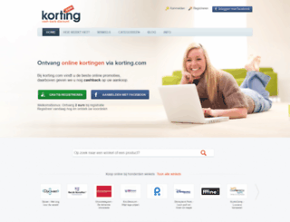 kortinglog.nl screenshot
