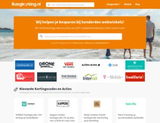 kortingscodedirect.nl screenshot