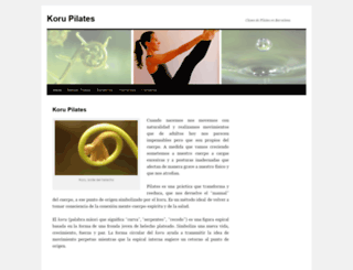korupilates.com screenshot