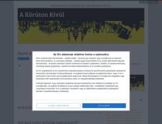 korutonkivul.blog.hu screenshot