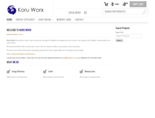 koruworx.co.za screenshot