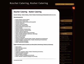 koscher-catering.de screenshot