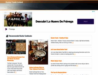 kosherfoodsireland.com screenshot