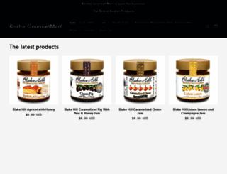 koshergourmetmart.com screenshot