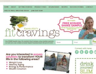 koshershakesample.com screenshot