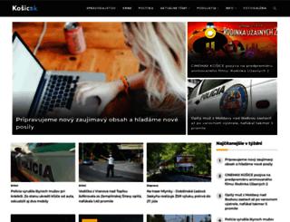 kosicak.sk screenshot