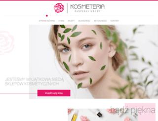 kosmeteria.com.pl screenshot