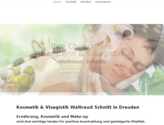 kosmetik-schnitt.de screenshot