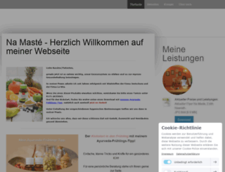kosmetik-wellness-wuppertal.de screenshot