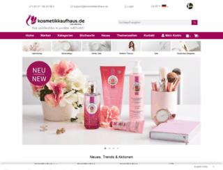 kosmetikkaufhaus.com screenshot