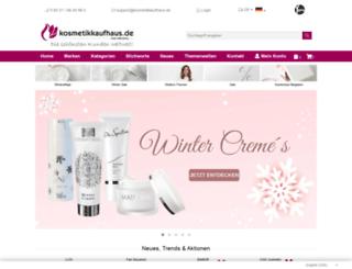 kosmetikkaufhaus.de screenshot