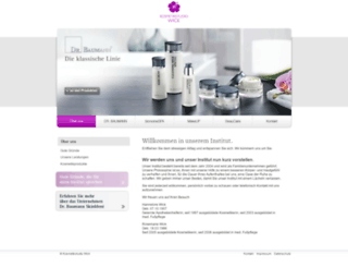 kosmetikstudio-wick.de screenshot