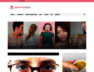 kosmetyka.edu.pl screenshot