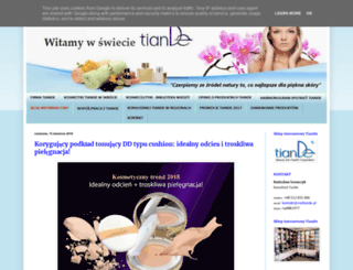 kosmetyki-tiande.com.pl screenshot