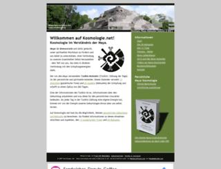 kosmologie.net screenshot