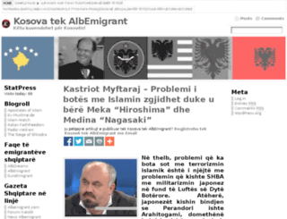 kosova.albemigrant.com screenshot