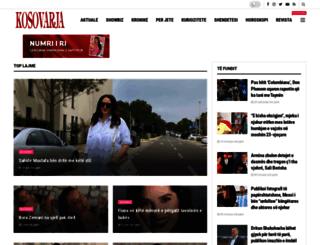 kosovarja-ks.com screenshot