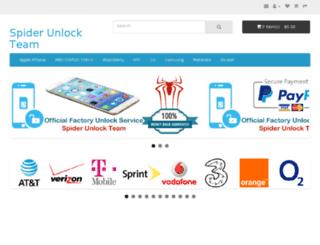 kosovo.spiderunlock.com screenshot