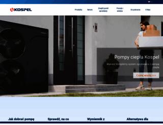 kospel.pl screenshot