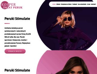 kosper-peruki.pl screenshot