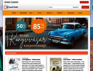 kossuth.hu screenshot