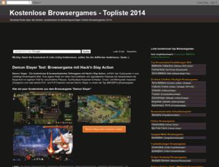 kostenlose-online-browsergames.blogspot.com screenshot