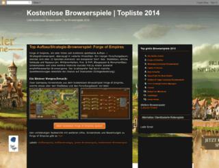 kostenlosebrowserspiele.blogspot.com screenshot