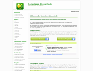 kostenloses-girokonto.de screenshot