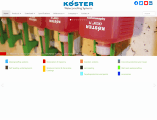 kosterusa.com screenshot