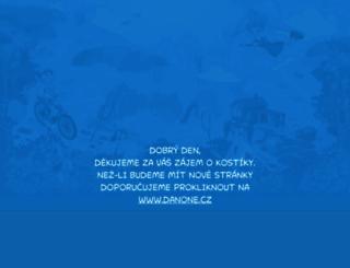 kostici.cz screenshot