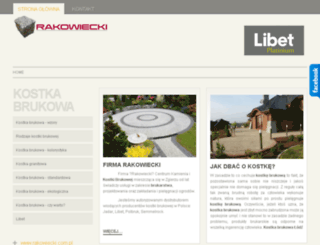 kostka-rakowiecki.pl screenshot