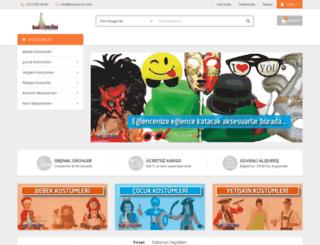 kostumcum.com screenshot