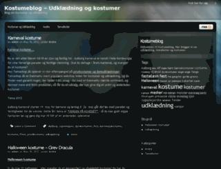 kostumeblog.dk screenshot