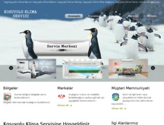 kosuyoluklimaservisi.com screenshot