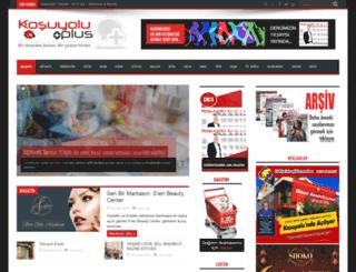 kosuyoluplus.com.tr screenshot