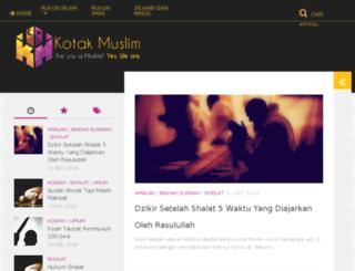 kotakmuslim.com screenshot