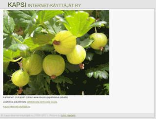 koti.kapsi.fi screenshot