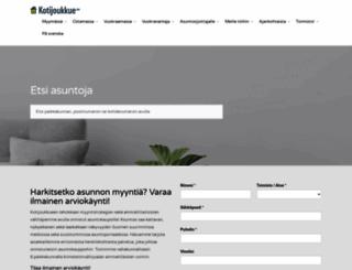 kotijoukkue.fi screenshot