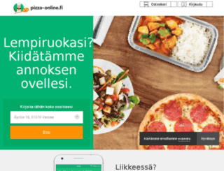 kotipizza.pizza-online.fi screenshot